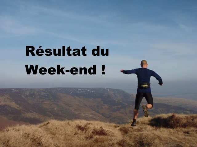 Résultat du week-end